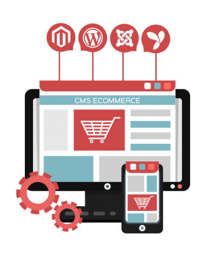 Custom CMS & eCommerce Development Services