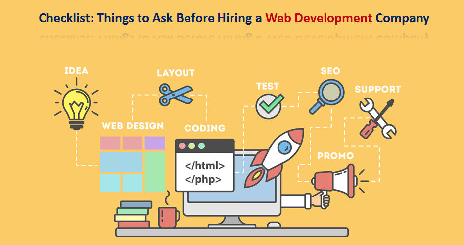 Checklist Things to Ask Before Hiring a Web Development Company