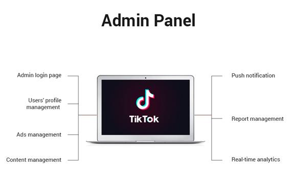 TikTok Admin Panel