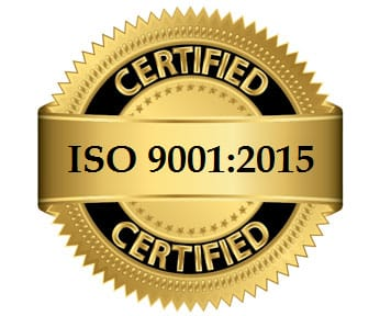 9001-2015 CERTIFIED